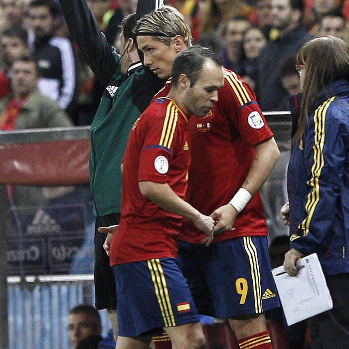 La afición cree que Del Bosque se equivocó sacando a Torres