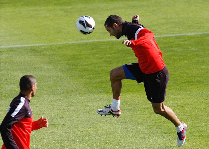 """Mario Suárez: """"Falcao transmite confianza, está tranquilo"""""""