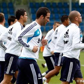 Higuaín y Di María regresan a los entrenamientos blancos