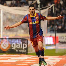 La bestia negra del Depor se llama Villa: once goles