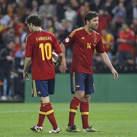 """Xabi: """"El penalti lo tiró Cesc porque tenía confianza"""""""
