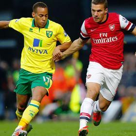 El Arsenal queda atrapado en el cerrojo del modesto Norwich