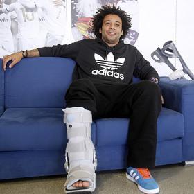 La cirugía en el dedo del pie de Marcelo se aplazó hasta hoy