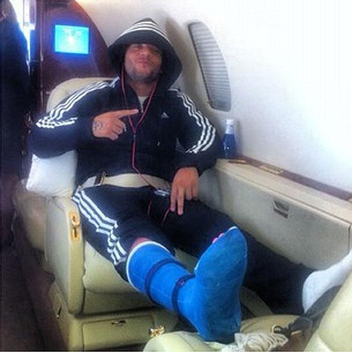 Marcelo ya está en Madrid