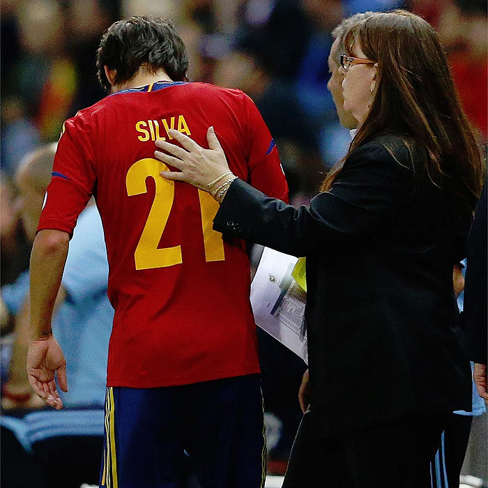 Silva, duda para el partido del sábado contra el Swansea