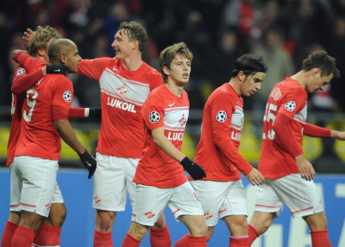 Emery coge aire en el Spartak a costa del Benfica