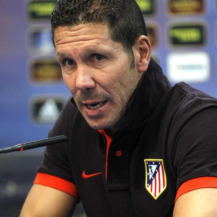 """'Cholo' Simeone: """"Falcao se merece ganar el Balón de Oro"""""""