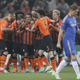El Shakhtar ganó a un Chelsea que temió por la goleada