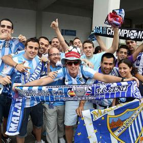El partido que Málaga soñó