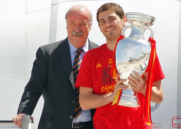 Casillas dará su voto a Del Bosque como mejor técnico
