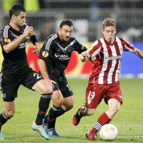 El Athletic tiene ya un pie y medio fuera de Europa