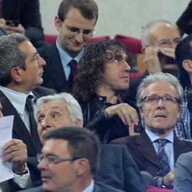 Tito sigue sin resolver las ausencias de Puyol y Piqué