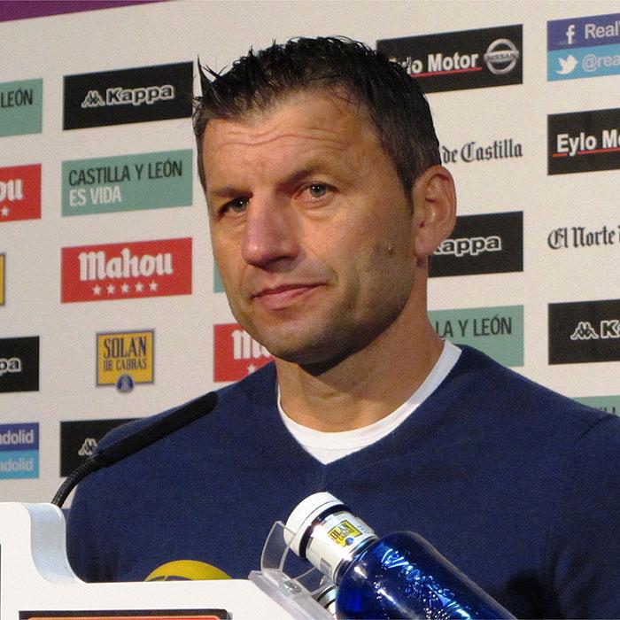 """Djukic: """"La plantilla será suficiente para lograr la permanencia"""""""