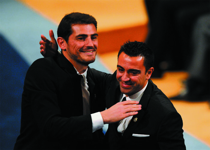 """""""La paz tras los Clásicos ha ayudado a este premio"""""""