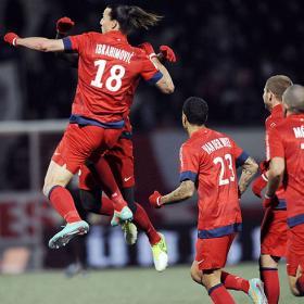 Ibrahimovic asegura el liderato del París Saint Germain