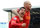 El Everton remonta dos goles del Liverpool para empatar