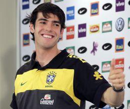 Brasil llama a Kaká para el amistoso ante Colombia
