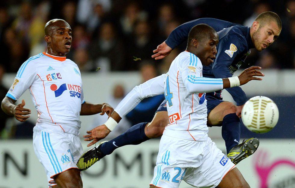 El Paris Saint Germain acaba con el Marsella, vigente campeón