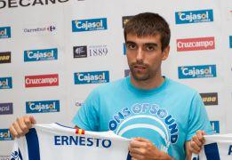 """Ernesto: """"Es más difícil el partido del Almería que el del Villarreal"""""""