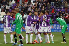 El golazo de Alberto Bueno da ventaja al Valladolid