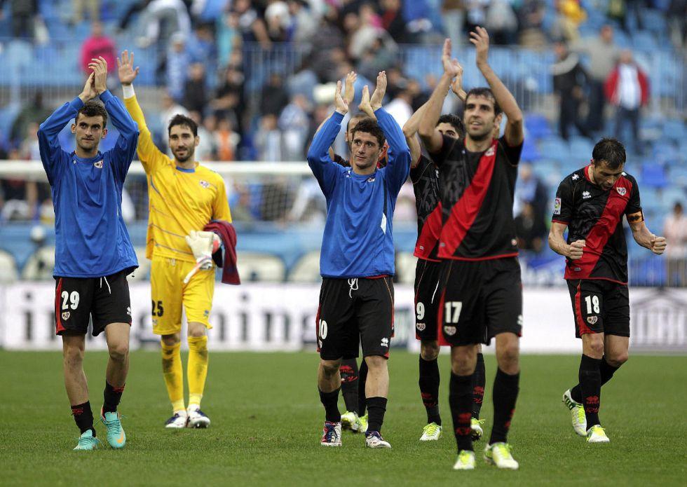 """El Málaga sufre """"un Rayo"""" y se deja sus primeros puntos en casa"""