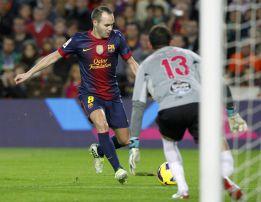 """Iniesta: """"El Celta nos hizo correr"""""""