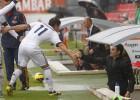 El Castilla empata con diez y el equipo dedica un gol a Toril