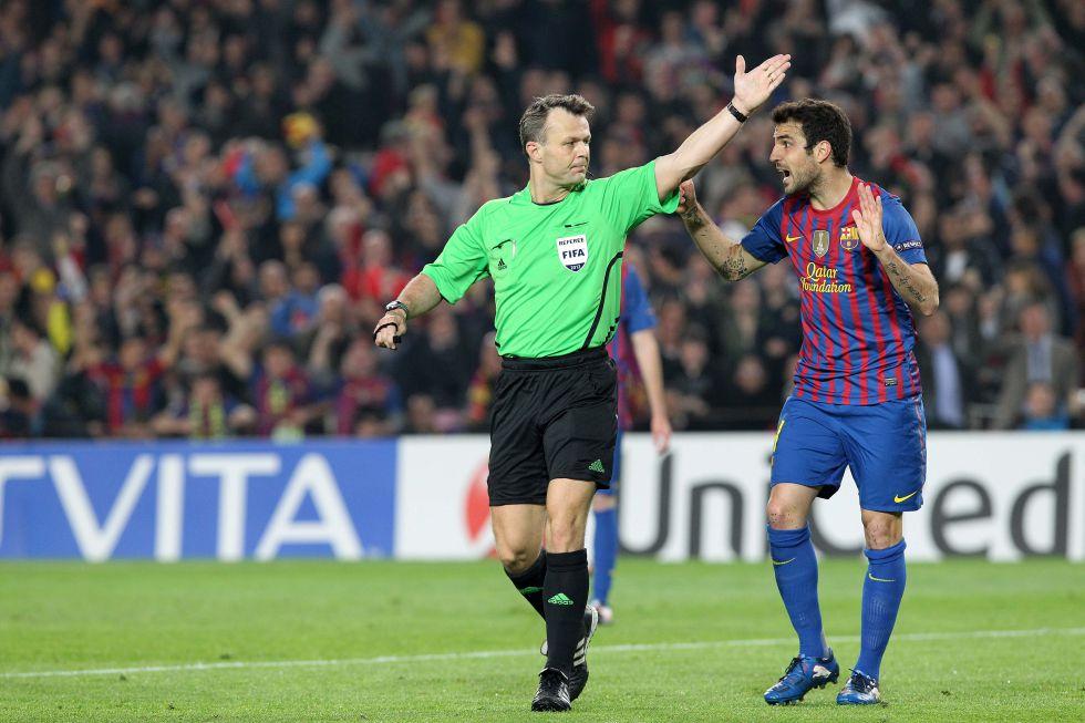 Un árbitro holandés pita al Barça y un noruego, al Valencia