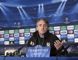Mancini: &quot;No estamos listos para ganar la Champions&quot;