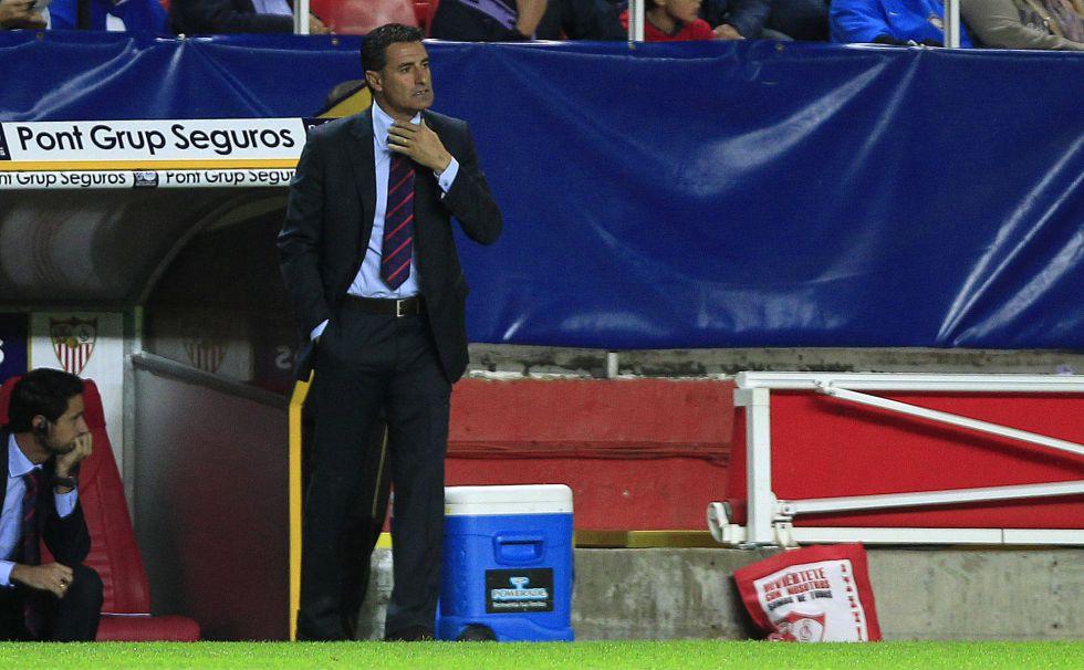 """Míchel: """"Estoy disgustado con el resultado, no con el equipo"""""""