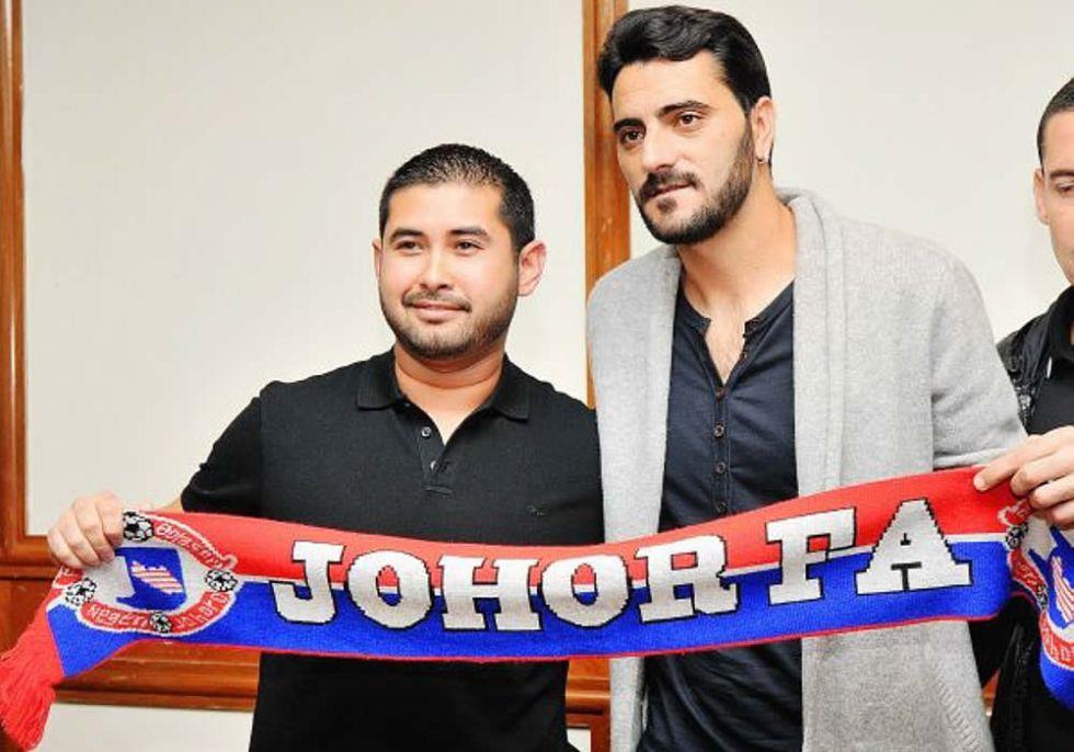 Dani Güiza ya es nuevo jugador del Johor de Malasia