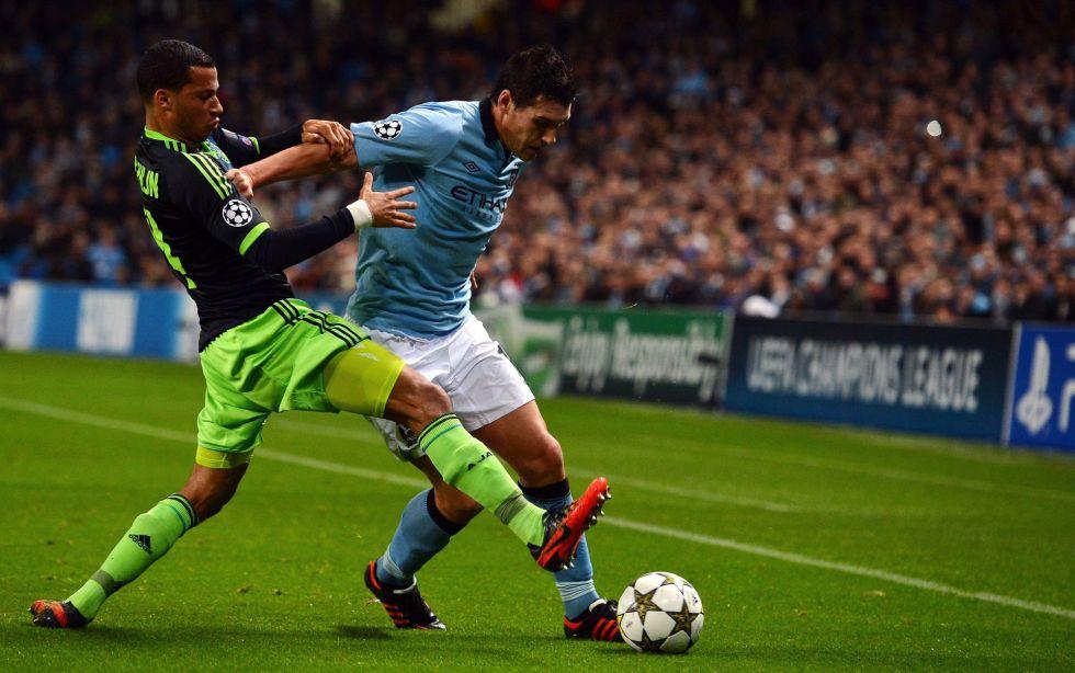 El Manchester City logra salvar un punto ante el Ajax