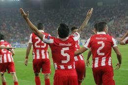 El Olympiacos sella la eliminación del Montpellier