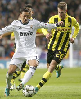 El R. Madrid-Borussia fue visto por 7,2 millones de espectadores