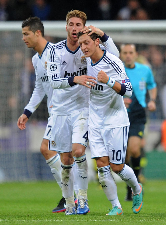 """Özil: """"Dedico el gol de ayer a los aficionados del Real Madrid"""""""