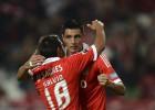 Cardozo da vida al Benfica ante un débil Spartak de Moscú