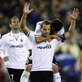 Valencia in touching distance of last 16 after win over BATE