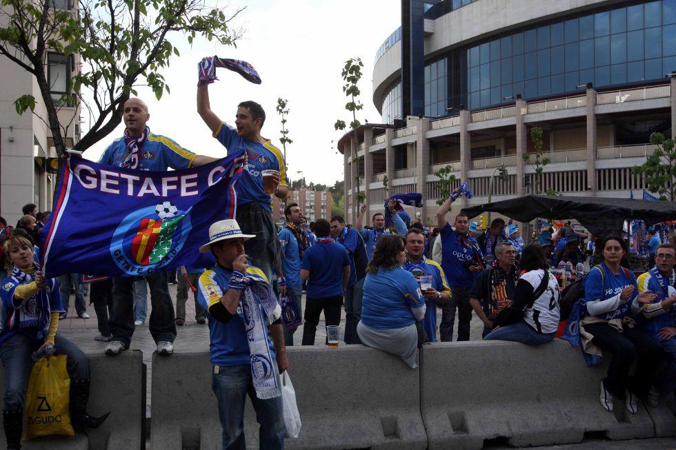 La afición del Getafe estará presente en el Vicente Calderón