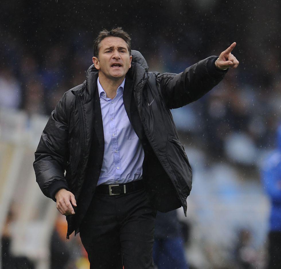 Aperribay defiende a Montanier: no se la juega en Málaga