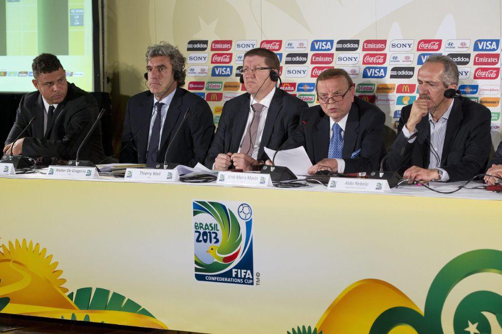 Recife y Salvador serán sedes de la Copa Confederaciones de 2013