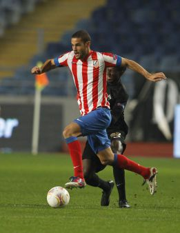Mario Suárez sufre un esguince en el tobillo derecho