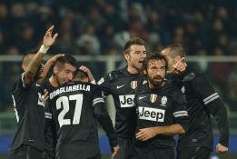 Quagliarella lidera el festín del Juventus en Pescara