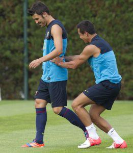 La Juventus, atenta al futuro de Villa y Alexis, según Tuttosport