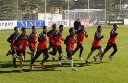El Atlético, con todos los jugadores disponibles