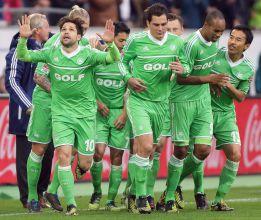 Diego hace doblete y el Wolfsburgo gana al Leverkusen