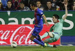 Su queja fue el penalti a Cuenca que dio el 1-2 al Barcelona