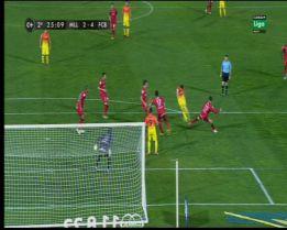El 2-4 de Messi debió ser anulado por fuera de juego de Alexis