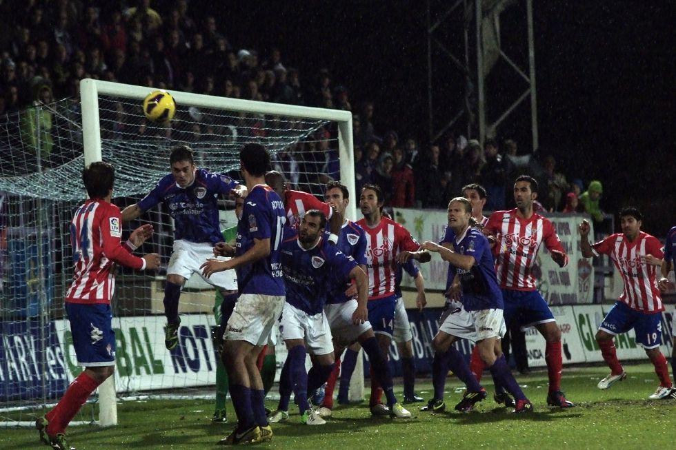 El Guadalajara ganó al Sporting de Gijón con la estrategia