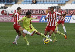 El Almería falla en casa