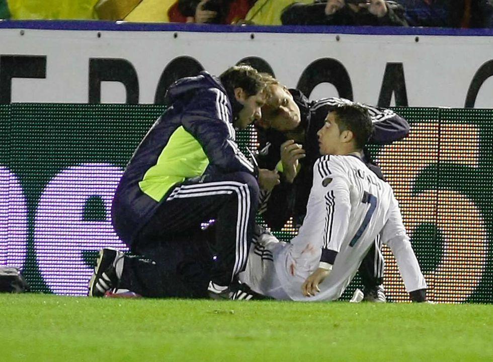 "Navarro: ""Fue fortuito, no fui a hacer daño a Cristiano Ronaldo"""